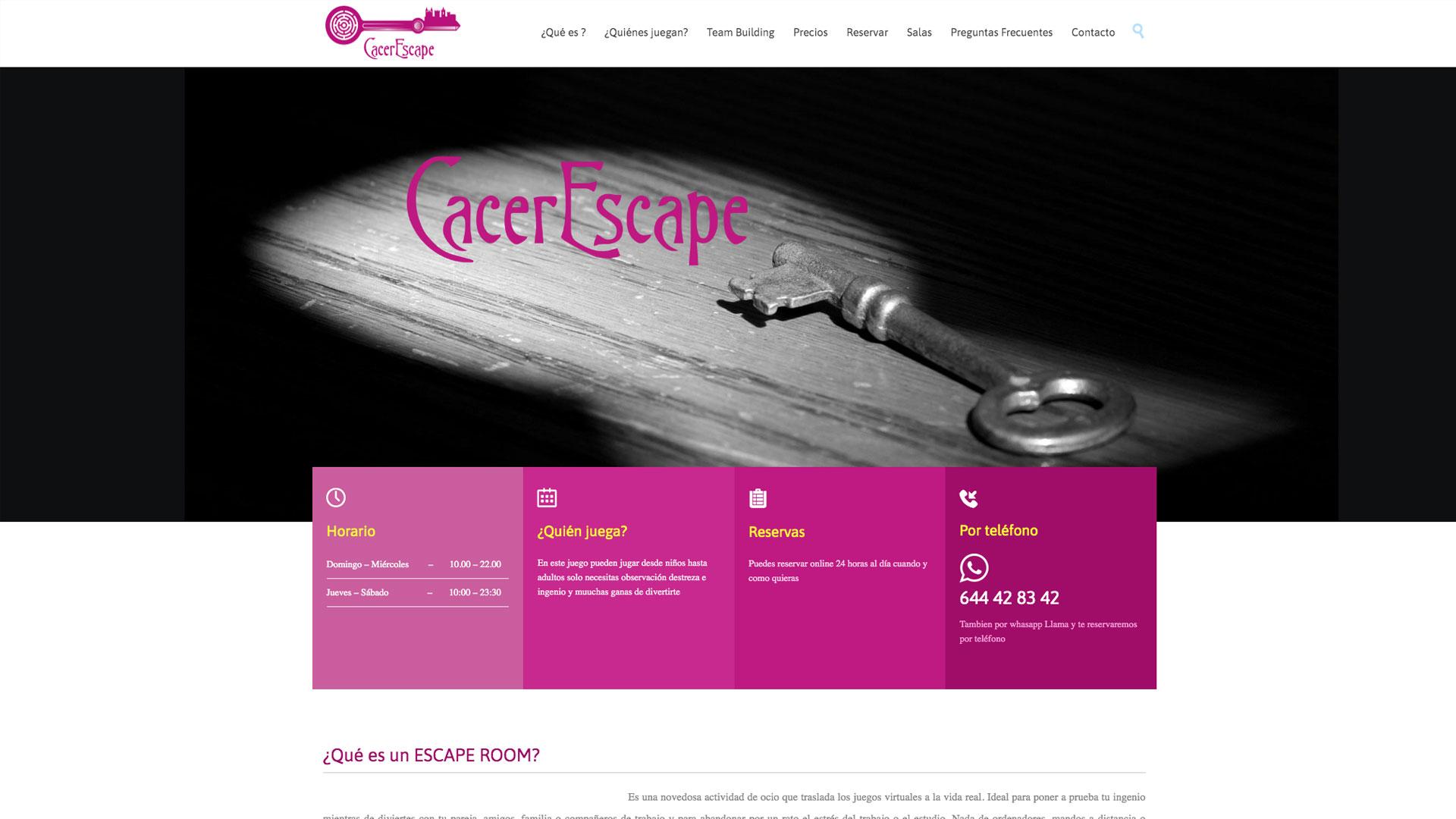 web-cacerescape